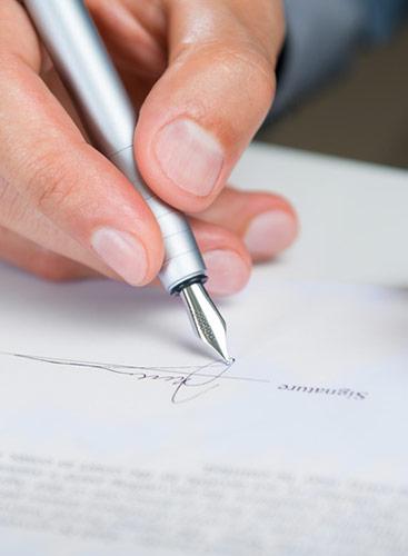MJ&Cie définit précisément son cadre d'intervention par une lettre de mission.