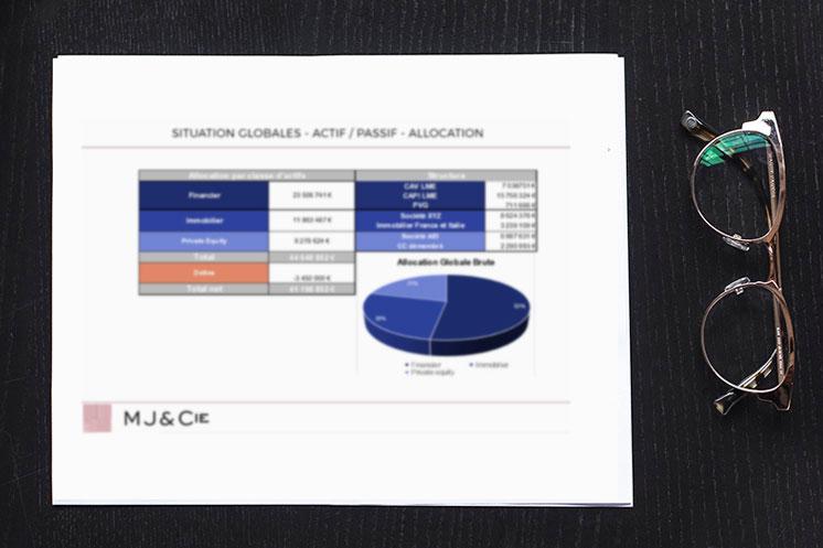 MJ&Cie pratique une méthode et un process rigoureux.
